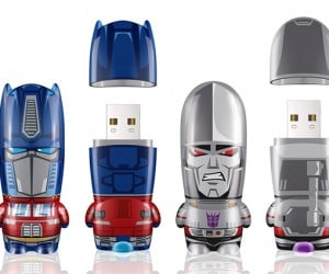 mimobot classic transformers series flash drives 300x250