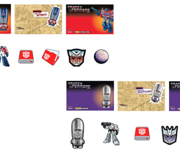 mimobot classic transformers series flash drives 4