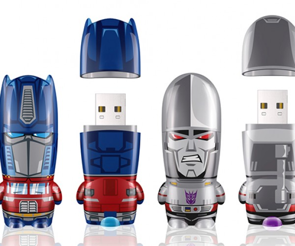 Mimobot Classic Transformers Series: Flash Drives in Disguise