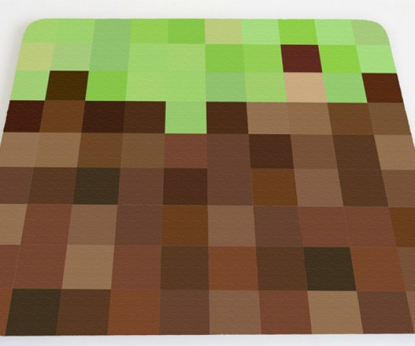 Minecraft Mousepad is Pixelated Perfection