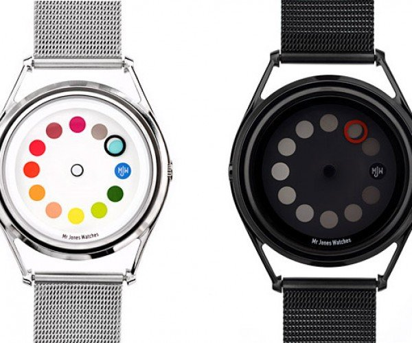 Cyclops Watch by Mr Jones: One Dot Time-Telling