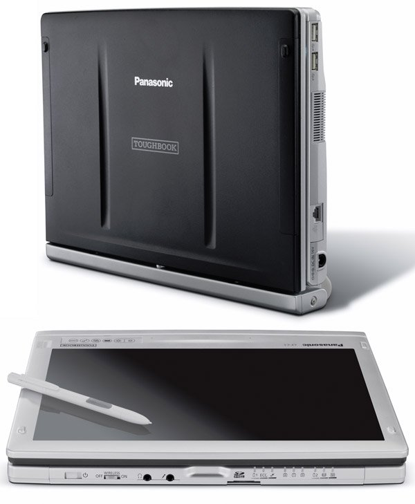 panasonic toughbook c1 closed tablet
