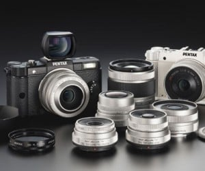 Pentax Q: World's Smallest Digital Interchangeable Lens Camera