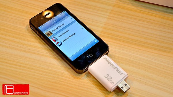 photofast i-flashdrive for iphone ipod ipad