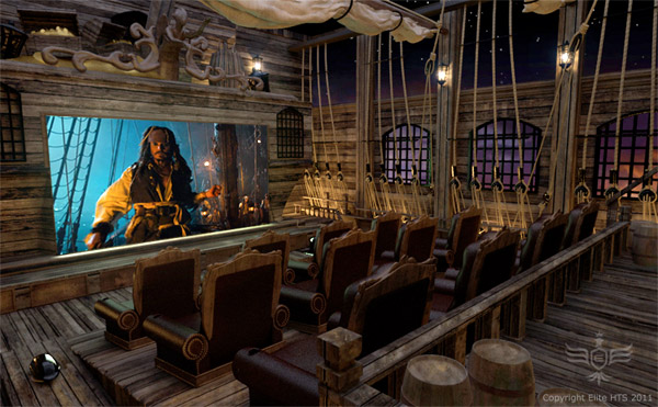pirate home theater 1