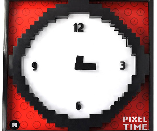 Pixel Time Wall Clock Tells Time in Glorious Low Resolution