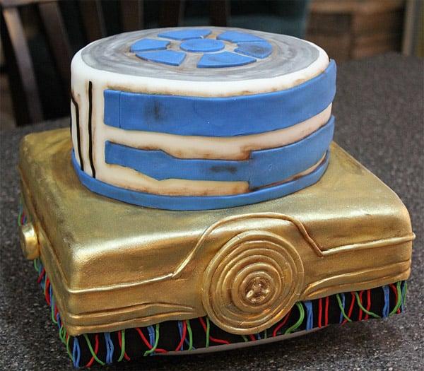 r2 d2 c 3po cake 2