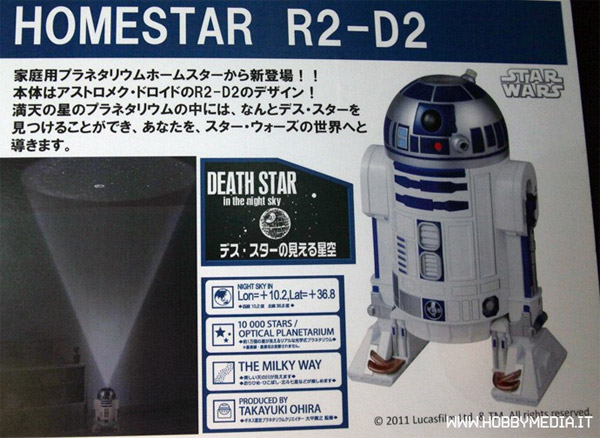 HomeStar R2-D2 Planet Projector: The Little Droid Sees Stars on