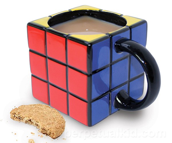 Rubik's Cube Mug is Totally Unsolveable