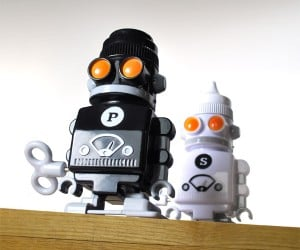 Salt and Pepper Bots for Lazy Condiment Passers