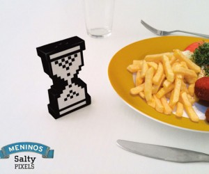 Salty Pixels Salt and Pepper Shaker: Wait… Which is Which Again?