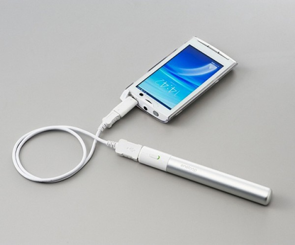 Sanyo Mobile USB Booster Stick Makes AA Batteries a Lot More Useful