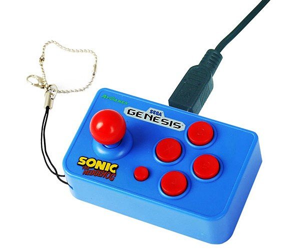 Nano Sonic: The Hedgehog Gets Tiny (and Other Genesis Games, Too)