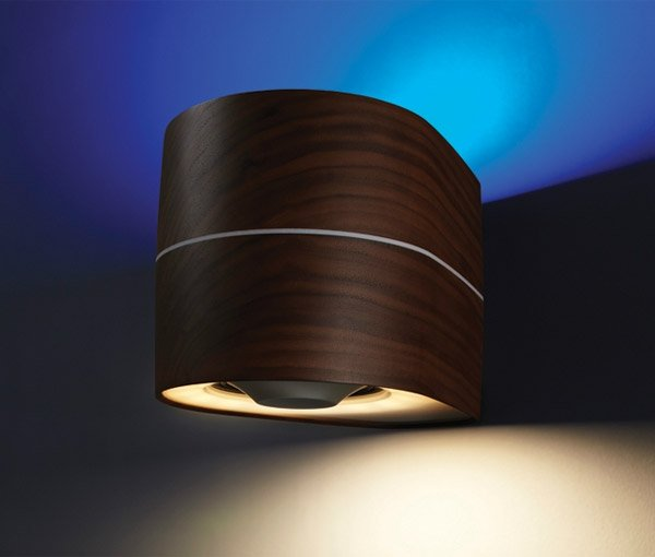 sensai wood lamp sconce