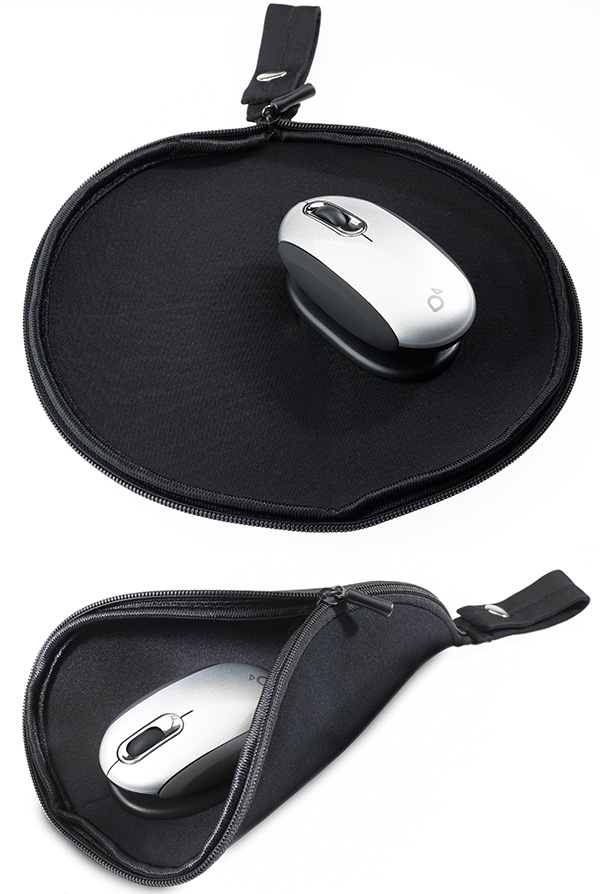 smartfish mouse pad travel pouch