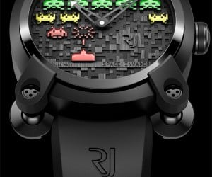 $10,000+ Space Invaders Watch: Drop Down, Reverse Direction and Empty Bank Account!