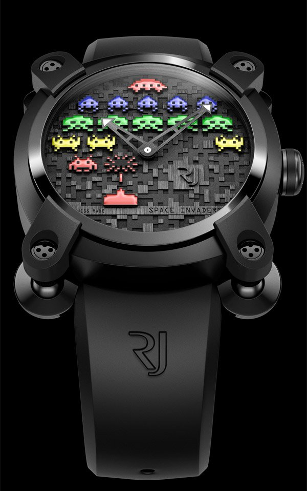 space invaders watch romain jerome 1