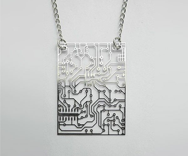 Circuit Board Pendants to Wear Around Your Electro-necks
