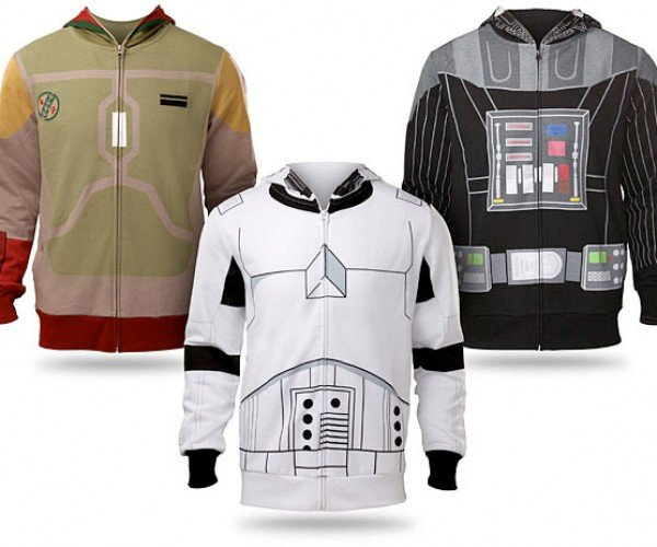 Star Wars Costume Hoodies: The Dark Side of the Fleece