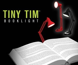 Tiny Tim Booklight: Luxo, Jr.'s Younger Brother