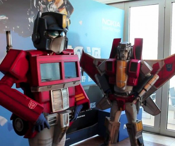 Transformer Costumes Look Cool, Still Don't Impress Bumblebee