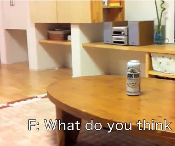 Beer Can Robot: Not Good for Bender, but Related to Him