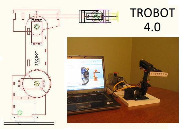 trobot_4_0_industrial_robot
