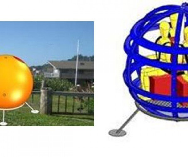 Tsunami Escape Capsule Looks Like a Giant Hamster Ball for People