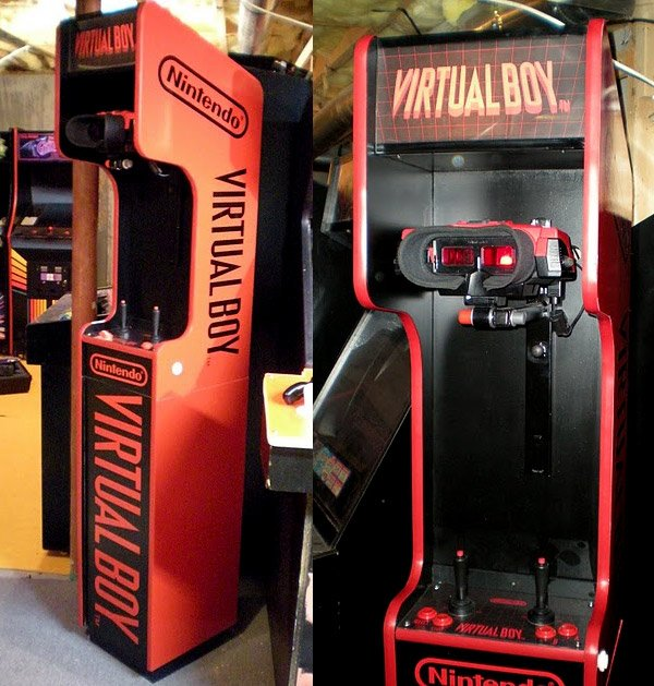 virtual boy arcade cabinet 1