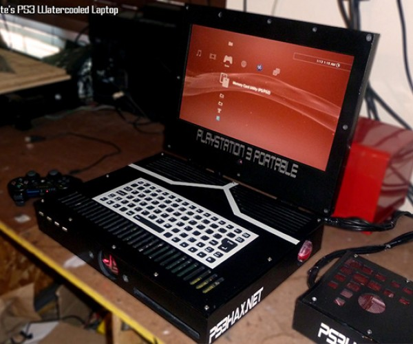 Liquid-Cooled PS3 Laptop Sells Hot on eBay