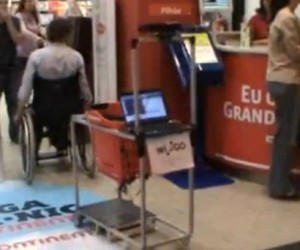 Wi-GO Kinect-Powered Shopping Cart for Disabled Follows Your Every Move