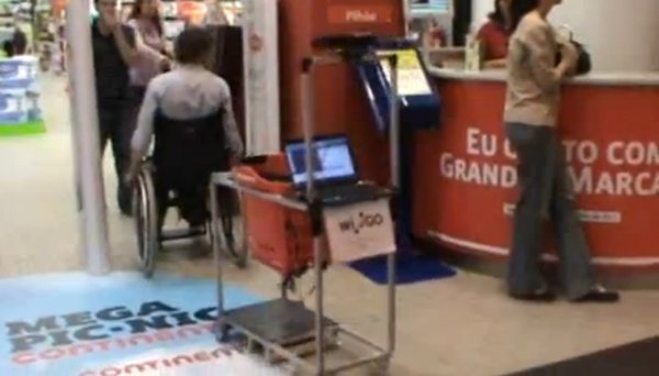 wi-go kinect shopping cart by luis de matos