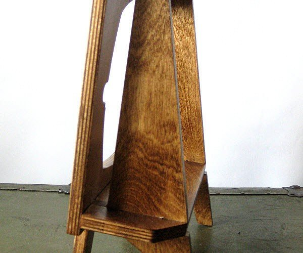 wood retro tv ipad dock by miterbox 4