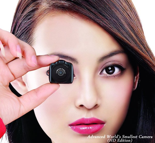 worlds smallest hd camera