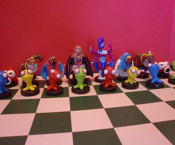zelda chess set by ben howard 10