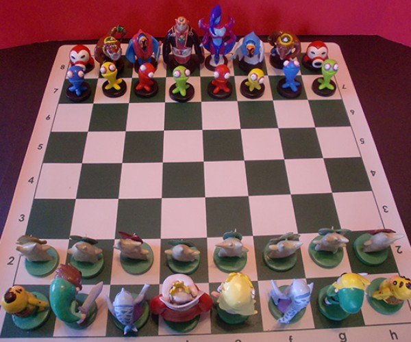 zelda chess set by ben howard 2