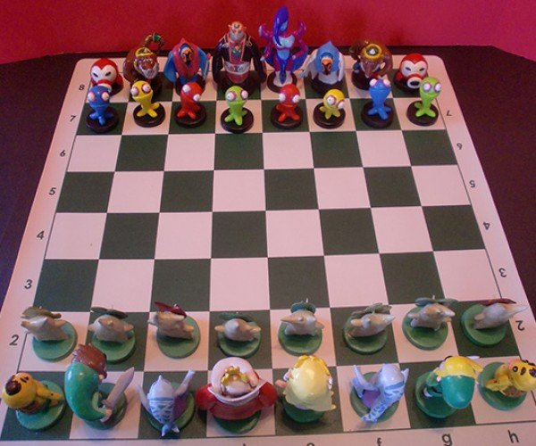 zelda chess set by ben howard 2