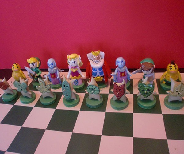 zelda chess set by ben howard 3
