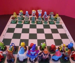 zelda chess set by ben howard 300x250