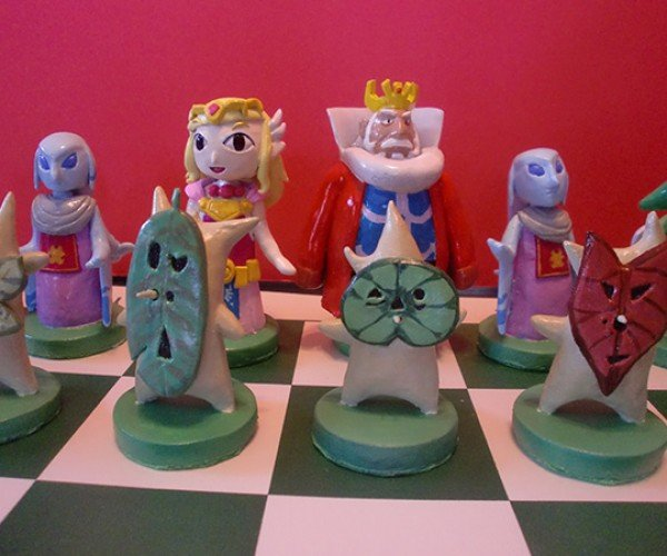 zelda chess set by ben howard 4
