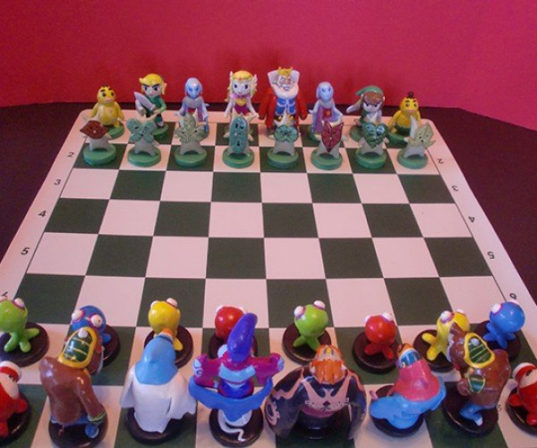 Zelda Chess Set: A Link to the Board Game