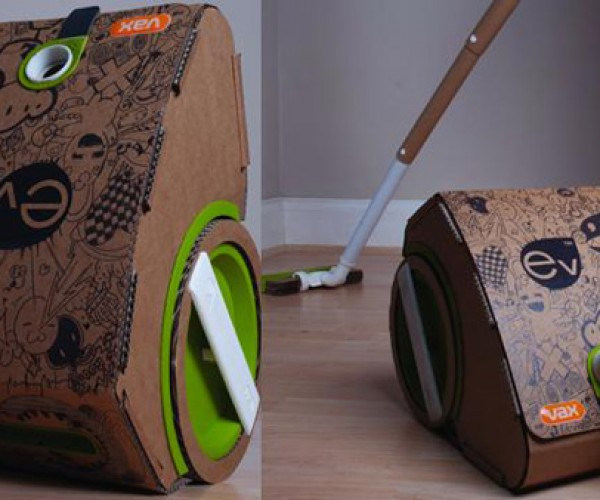 Vax Ex Cardboard Vacuum: Clean and Green