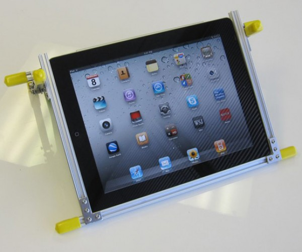 MicroRax Adjustable iPad Stand: Best DIY Stand