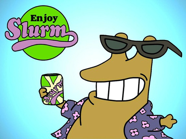slurm energy drink futurama wormulon fun novelty