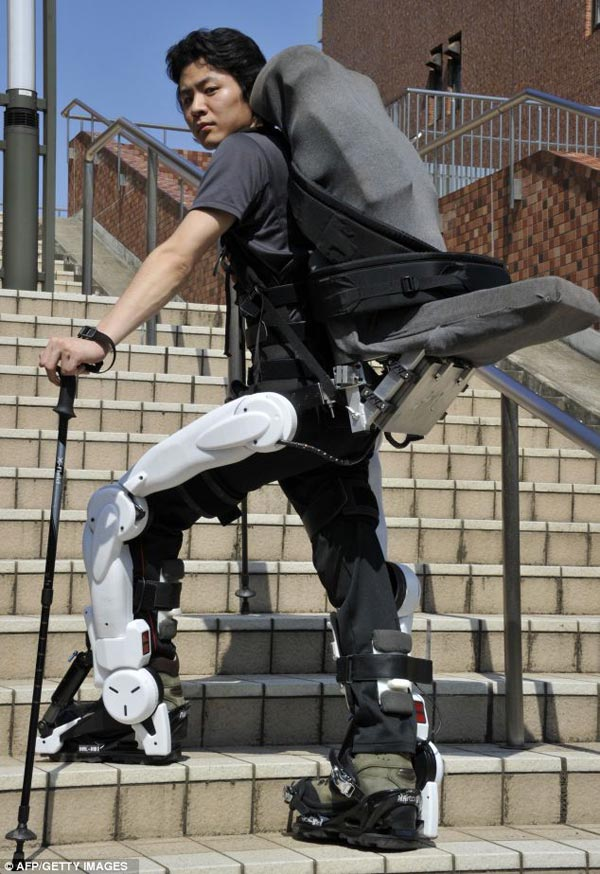 robo suit hal hybrid assisted limb exoskeleton japanese robots