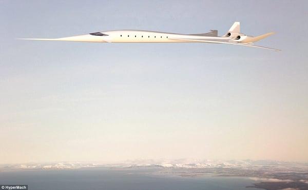 sonicstar hypermach jet supersonic concorde future tech