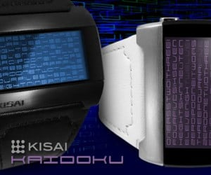 Tokyoflash Kisai Kaidoku: Telling Time with Text