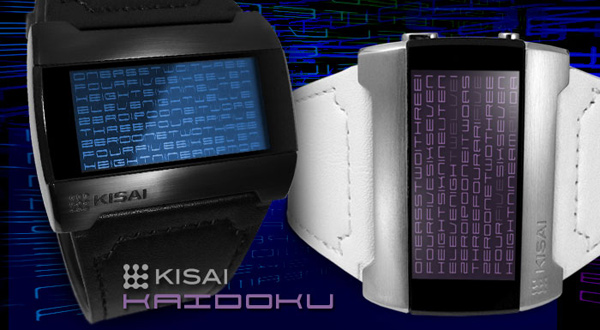 tokyoflash kisai kaidoku watches timepiece japan time