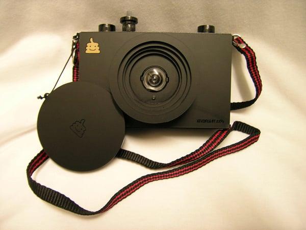 diy kit man laser cut camera film photography