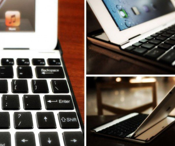 M.I.C. Aluminum Keyboard Case For iPad2: Looking Like a MacBook Air